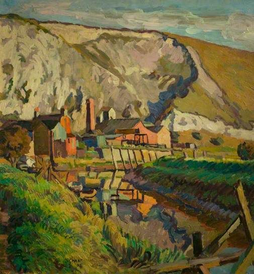 Lewes Landscape by Duncan Grant, 1933-34
