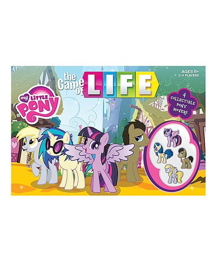 Loving this My Little Pony Game of Life on #zulily! #zulilyfinds