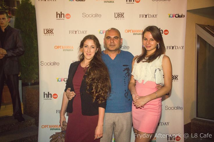 More pics from the event are available here: http://socialite.nu/fryday-kyiv-afterwork-l8-cafe-19-07-2013/