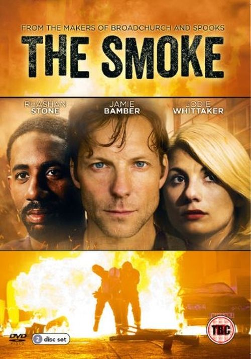 The Smoke (2014; Sky 1; Jamie Bamber, Jodie Whittaker, Rhashan Stone) -- Firefighter returns after a serious injury and tries to deal with life. I watched purely for Taron Egerton, who is hotter than anything in this tepid script.