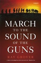 March to the Sound of the Guns by Ray Grover. Five war stories - Colonel Malone, one of the very few who knows what war is about, trains his men hard. The other 4 are 19-year-olds who volunteer: Harry, the Christian sniper; Jim, the leftwing activist; Frank, the intellectual. Each has no alternative but to endure fear, sickness, wounds, and the imminent prospect of death under the foulest of conditions. Then there is Nelle, the nurse, patching up the remnants of men who have 'survived'