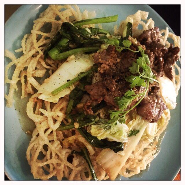 Deep fried pho at Ru Pho Bar, Tan Dinh Ward
