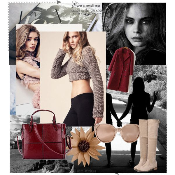 Sweet stars shines by bewoolen on Polyvore featuring Linda Farrow