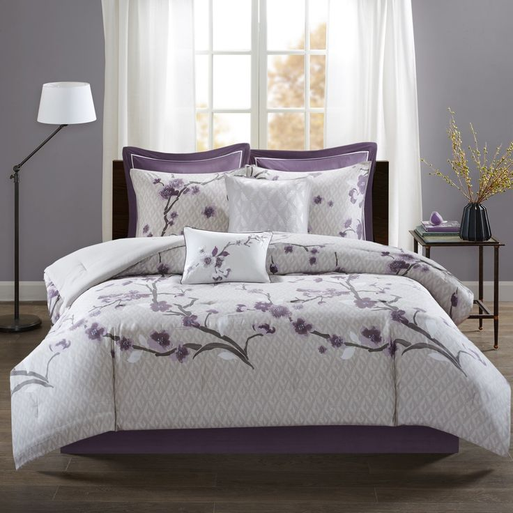Madison Park Isabella 8 Piece Cotton Cal King Size Comforter Set
