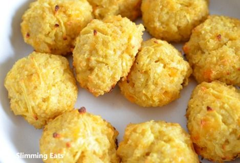 Apple and Cheese Quinoa Balls | Slimming Eats - Slimming World Recipes