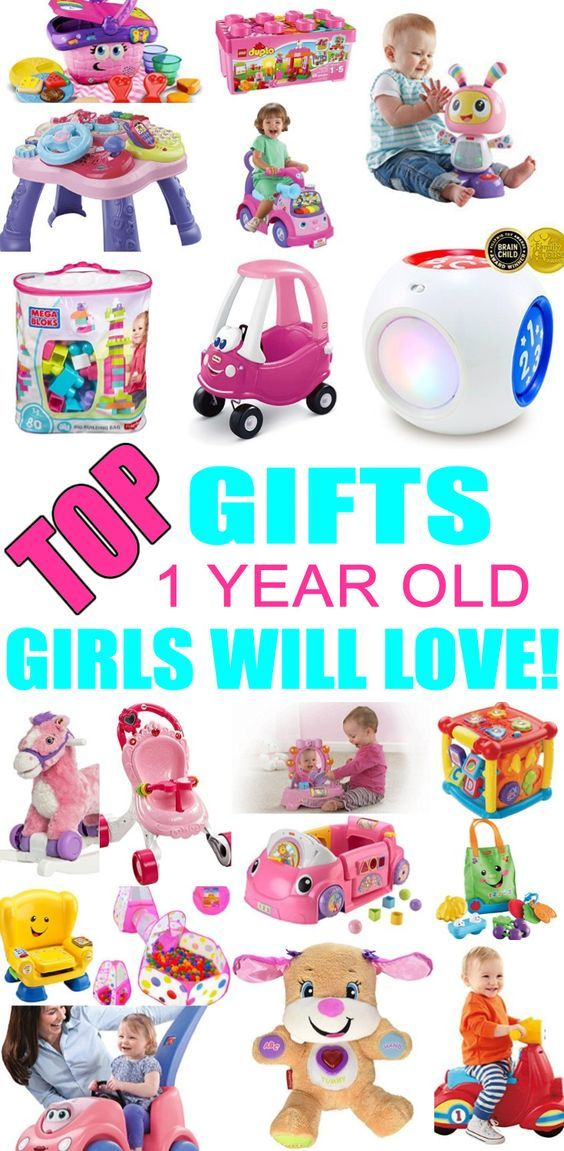 Top Gifts For 1 Year Old Girls! Best gift suggestions u0026 presents for girls first birthday or Christmas. Find the best toys for a girls 1st years.  sc 1 st  Pinterest & Best Gifts for 1 Year Old Girls | 1st | First birthday gifts girl ...