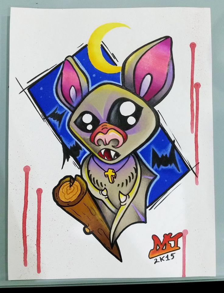 #bat #pipistrello #tattoo #tattooartist #colortattoo #mrjack #mrjacktattoo #mrjacktattooartist #tatuaggio #bodyart #arte