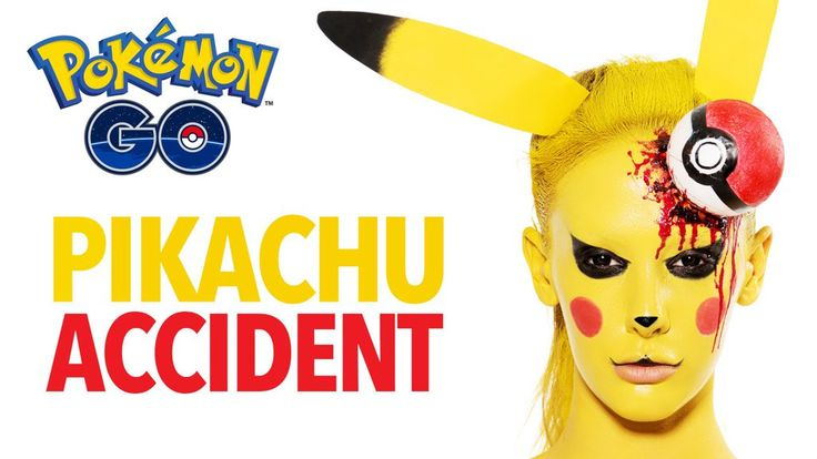 Want to be a scary Pokemon this Halloween? This makeup tutorial will give you a scary Pikachu look.