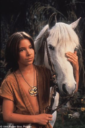 Atreyu and Artax - Never Ending Story :) I used to have such a crush on Atreyu when I was younger!