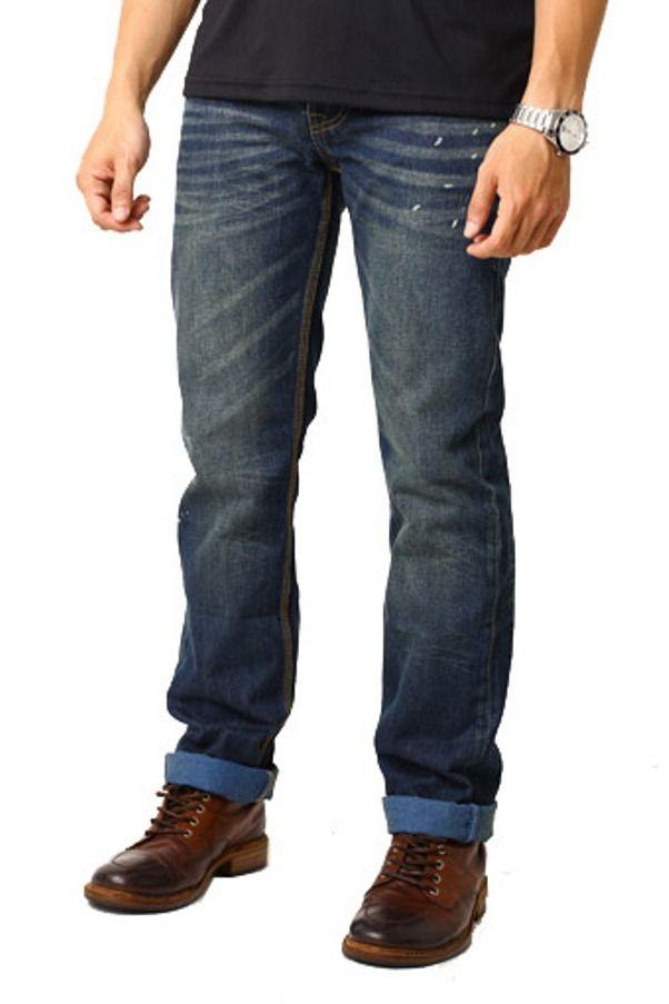 Edberth Shop Jeans Panjang - SteelBlue - Int:30