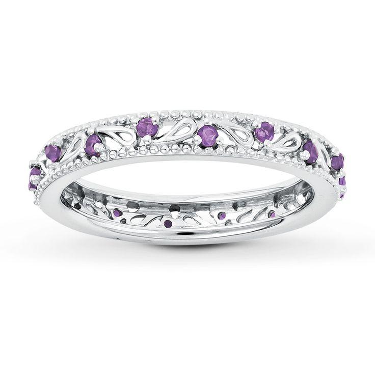 Stackable Amethyst Ring (Gwen's birthstone)