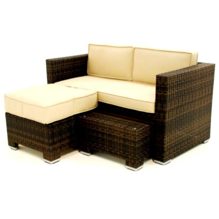 die besten 25+ black rattan garden furniture ideen auf pinterest ... - Gartenmobel Set Rund