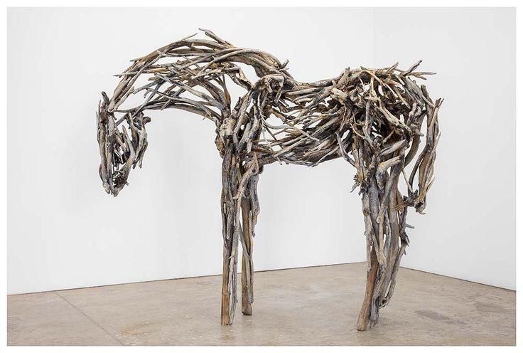 Red Stick Sculpture Deborah Butterfield Horse | Deborah Butterfield | Sculpture