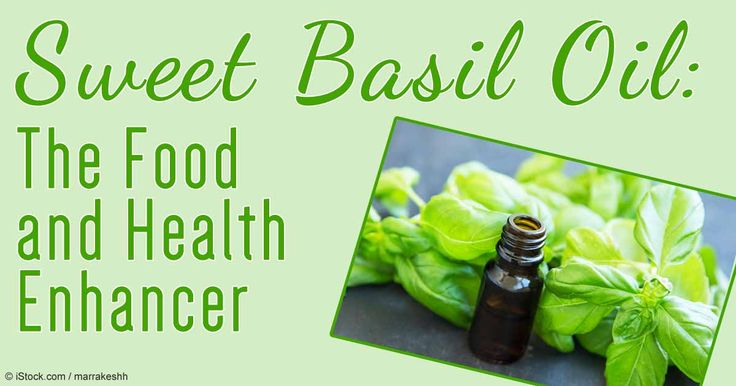 Sweet basil is oil is a must-have both in your kitchen and medicine cabinet as it offers many benefits both for your health and appetite. http://articles.mercola.com/herbal-oils/sweet-basil-oil.aspx