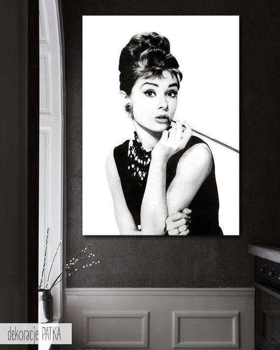 Audrey Hepburn Dekoracje ścienne Dekoracje ścienne Wall