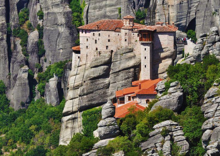 Rousannou Monastery on Meteora