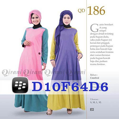 Gamis Qirani Model 186 Hubungi 085732697004 PIN BB D10F64D6