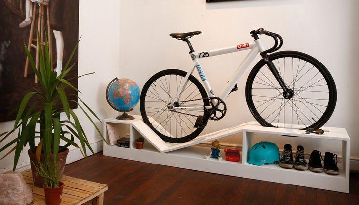 como guardar a bicicleta em casa