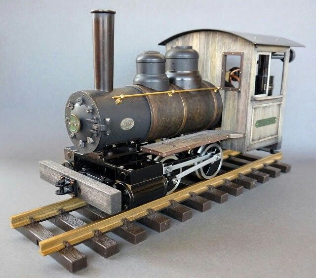 Accucraft Ruby bashed live steam loco