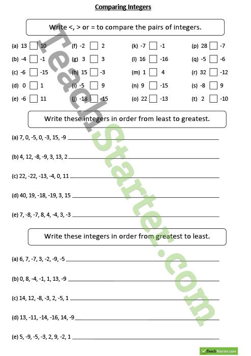 Best 25+ Negative numbers worksheet ideas on Pinterest | My maths ...