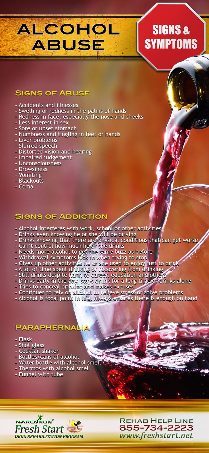 ALCOHOL ABUSE SIGNS AND SYMPTOMS #alcohol #abuse #addiction #signs Learn more about alcohol abuse https://pastthetippingpoint.net/drug-abuse-help/alcohol-abuse/