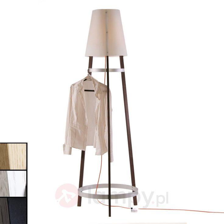 Praktyczna lampa stojąca Wai Ting kabel czerwony 2600421X