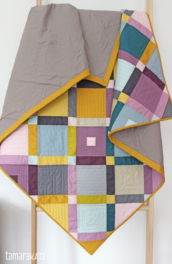 tamara kate - cobblestone quilt for michael miller fabrics