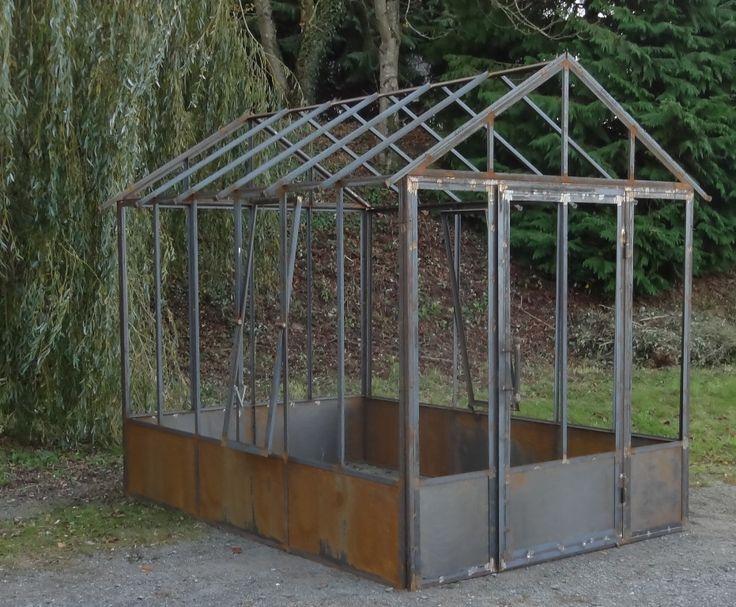 serre de jardin l 39 ancienne serres pinterest serre de jardin serre et pieds de table en. Black Bedroom Furniture Sets. Home Design Ideas