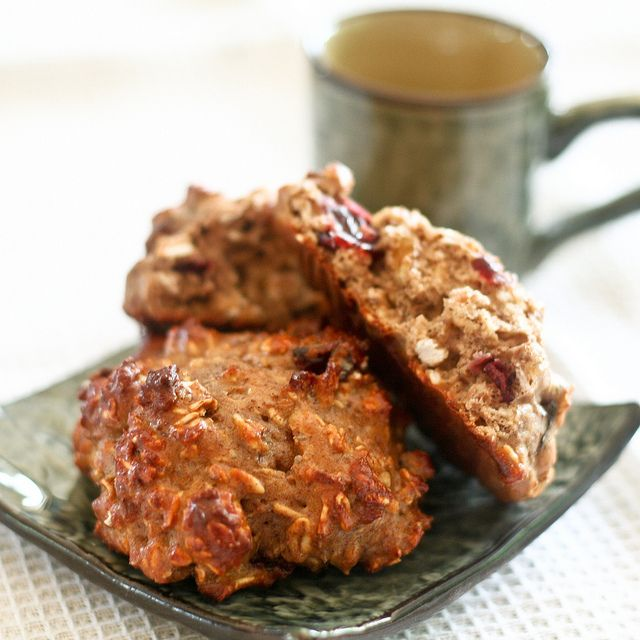Protein Oatmeal Cookies - You can add cranberries, dates, etc for extra sweetness; I don't like to use raisins | via TheHealthFoodie.com