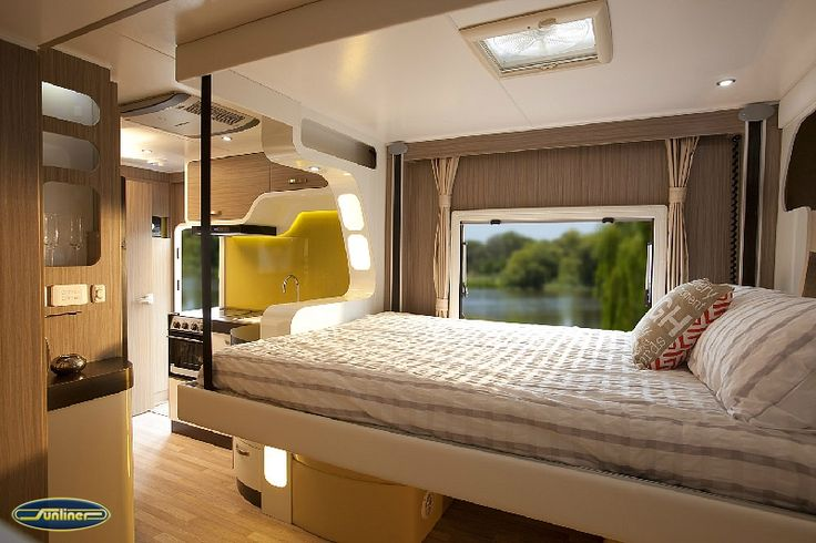 The Drop Down Bed A Compact Motorhome At Less Then 27