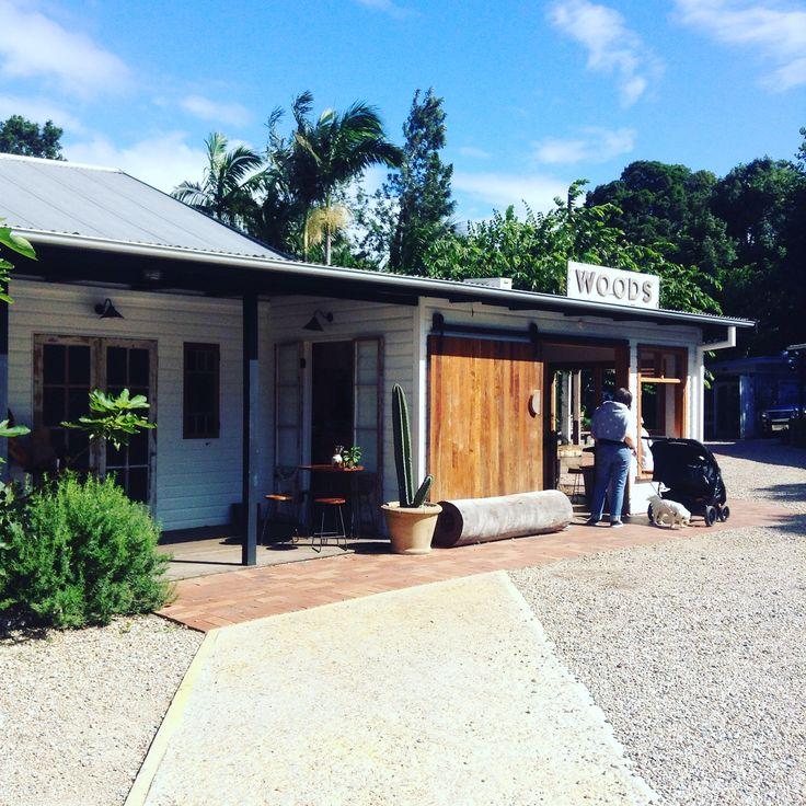 Woods cafe Bangalow