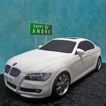 Bmw Cake... gta do this for erics 30th~!