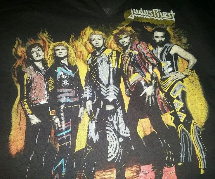 Judas priest Rare Vintage shirt 1986 Turbo Fuel For Life tour LOW bid NO reserve in