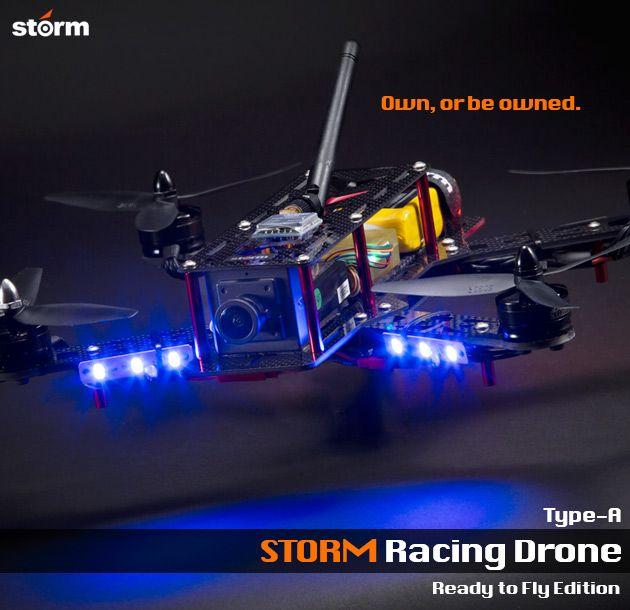HeliPal.com - STORM Racing Drone (RTF / Type-A) www.helipal.com/... #QAV250