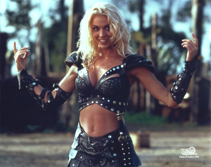 Callisto (Hudson Leick) was a recurring character on Xena and Hercules (and one of my guilty pleasures for watching). She was one of the most bloody and ruthless warlords of the time, due to witnessing the horrific deaths of her mother, father and sister at the hands of Xena, during a chaotic assault on her village. She built an antagonistic relationship with Xena (and others) throughout the years, constantly attempting to destroy her both mentally and physically.