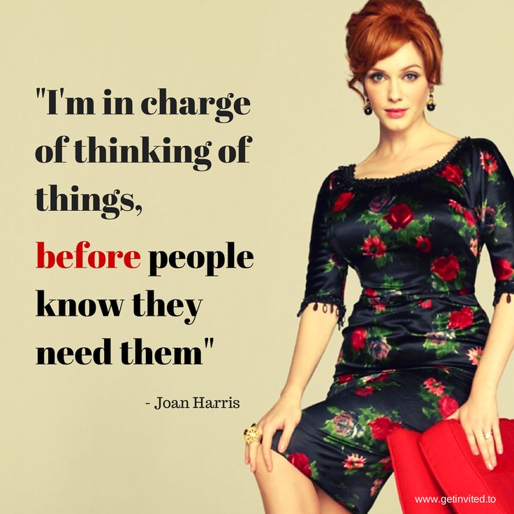 """""""I'm in charge of thinking of things, before people know they need them"""""""