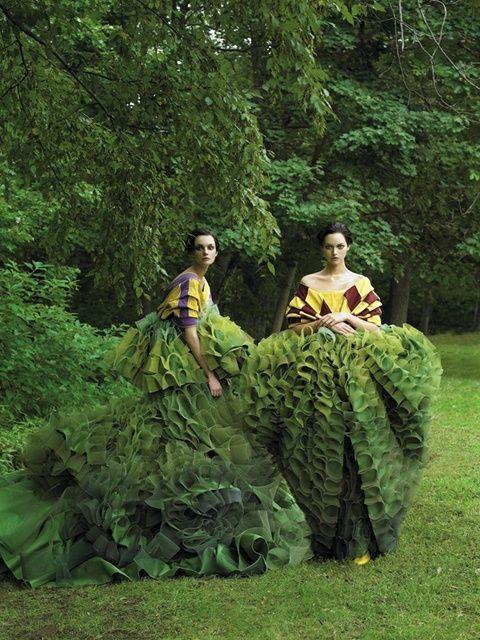 Grüne Gewänder – Pflanzenfreude.de