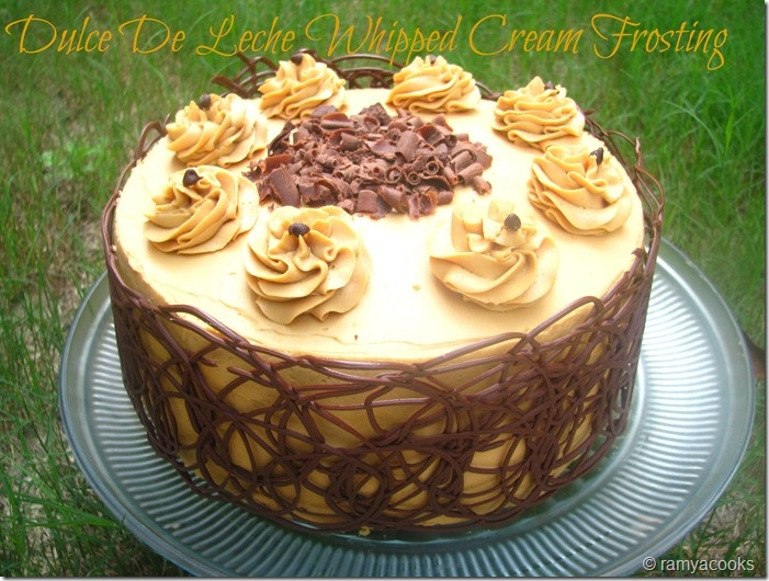 Dulce De Leche Frosting | Cakes | Pinterest | Whipped cream, Whipped ...