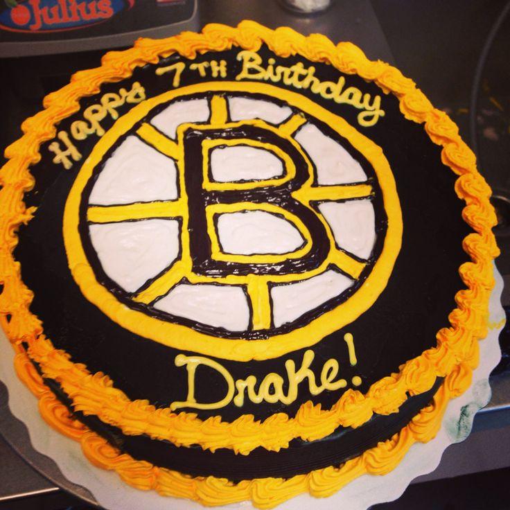 Bruins Cake Ideas