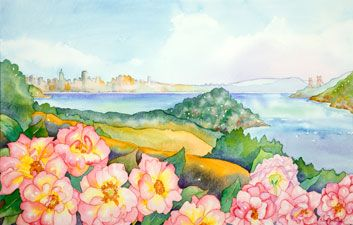 Eileen Ormiston: View of San Francisco