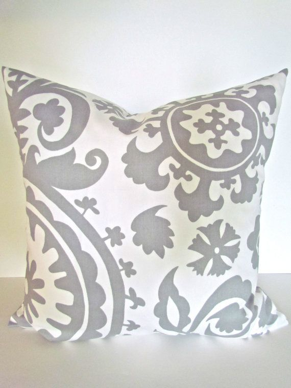 Throw Pillow Fabric Ideas : 25+ best ideas about Grey Pillow Covers on Pinterest Grey pillows, Grey throw pillows and ...