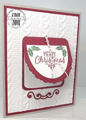 Cheerful Tags, Cable Knit Dynamic, Stampin Up, susanstamps.wordpress.com