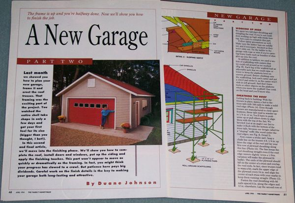 Free simple 2 car garage plans woodworking projects plans for Two car garage with workshop plans