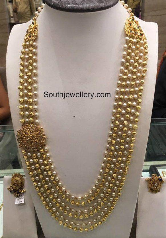 South Sea Pearls Nakshi Balls Haram photo