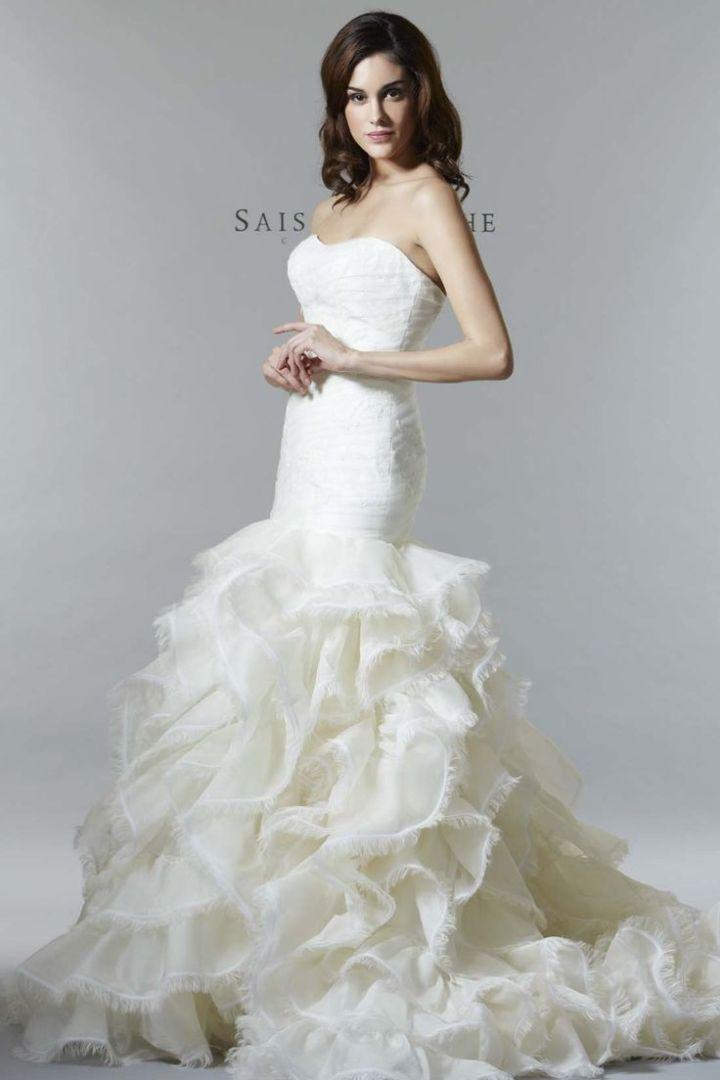 http://www.modwedding.com/2014/10/30/saison-blanche-wedding-dresses-graceful-elegance/ #wedding #weddings #wedding_dress