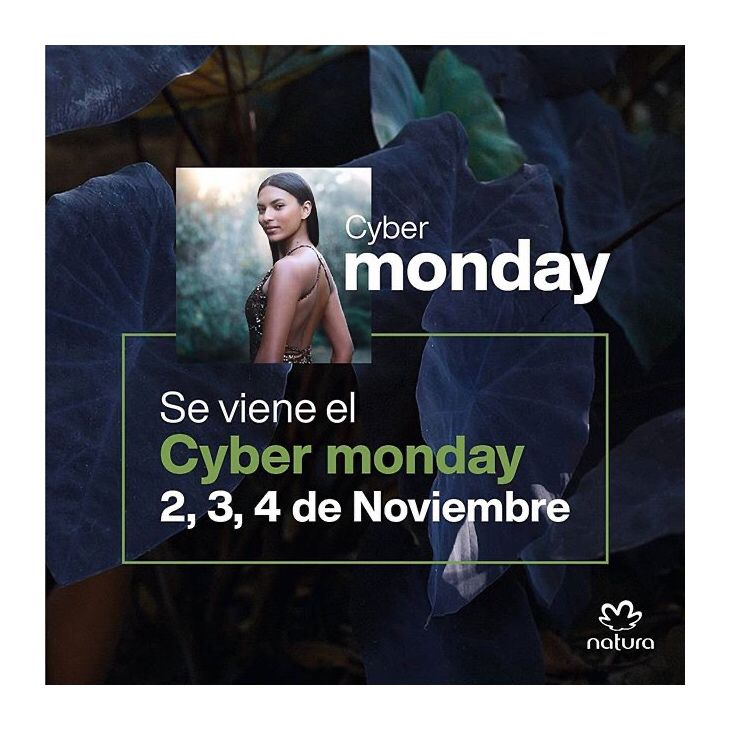 Cyber Monday Natura In 2020 Cyber Monday Monday Cyber