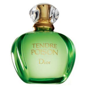 Tendre Poison by Dior ------------------  Top notes of galbanum and tangerine are followed by freesia and orange at its heart. The drydown is warm and subtle containing sandalwood and vanilla.---------------- It was created in 1994.