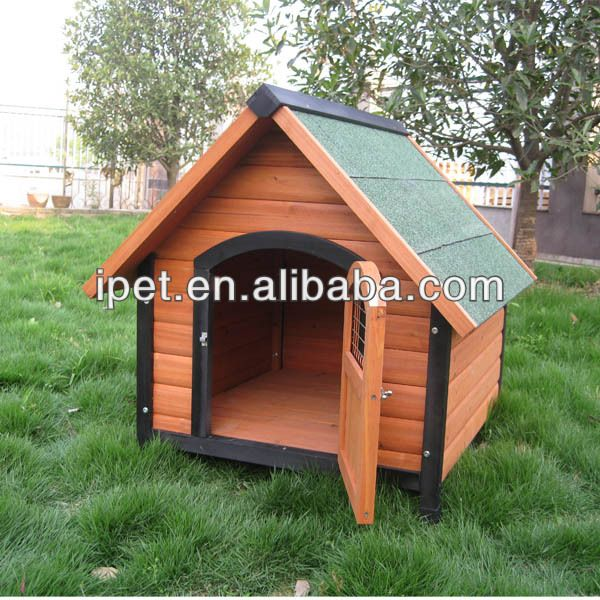 Unique Dog Cage  1. Asphalt roof   2. Fir wood treated with a non-toxic preservative   3. Flat packing