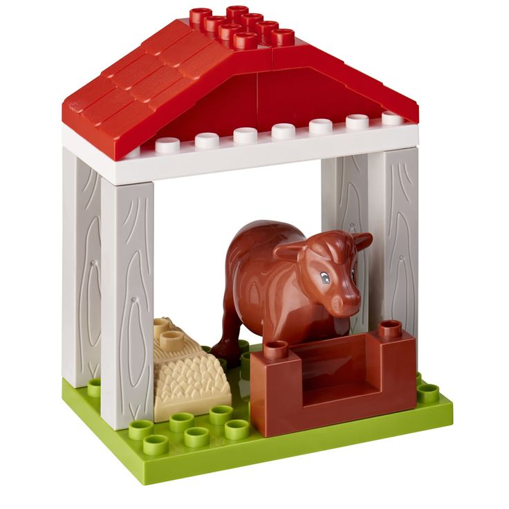 First Blox Horse's Stable Cow Barn