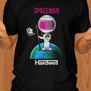 Hardwell Spaceman Men T-Shirt